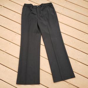 x LAUREN RALPH LAUREN Grey Dress Slacks Wool Sz 12